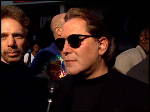 Don Simpson at the 'Bad Boys' Premiere at the Cinerama Dome at ArcLight Cinemas in Hollywood California on April 6 1995