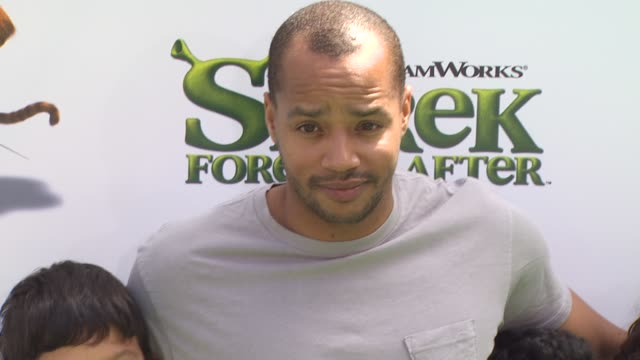 Donald Faison and Guests at the 'Shrek Forever After' Premiere at Universal City CA
