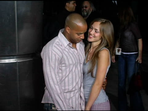 Donald Faison and Minka Kelly at the 'King's Ransom' Los Angeles Premiere at the Cinerama Dome at ArcLight Cinemas in Hollywood California on April...