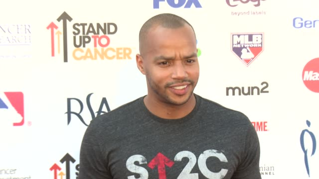 Donald Faison at 2012 Stand Up To Canceron 9/7/2012 in Los Angeles California