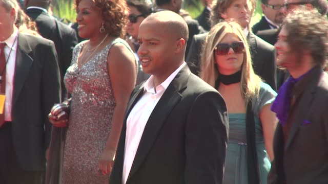Donald Faison at the 2009 Primetime Creative Arts Emmy Awards at Los Angeles CA