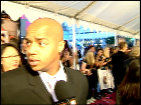 Donald Faison at the 'Josie and the Pussycats' Premiere at Galaxy Theatre in Hollywood California on April 9 2001