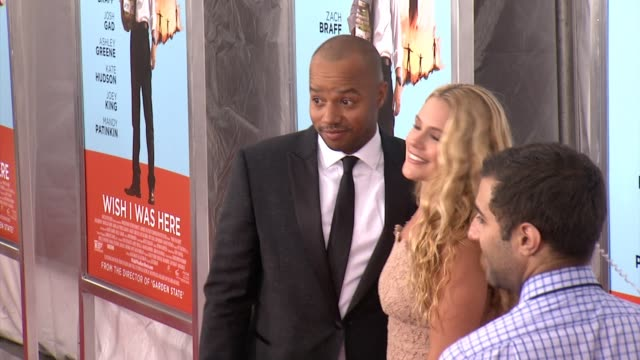 Donald Faison at 'Wish I Was Here' New York Premiere Presented By Focus Features at AMC Lincoln Square Theater on July 14 2014 in New York City