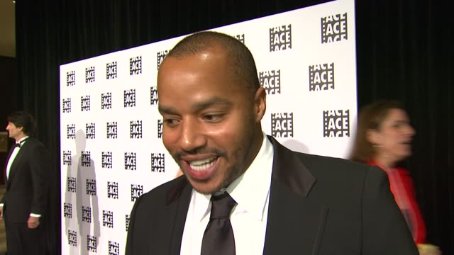 Donald Faison on being a part of the night why it's nice to have a show that shines the spotlight on editors the last time he was surprised by a...