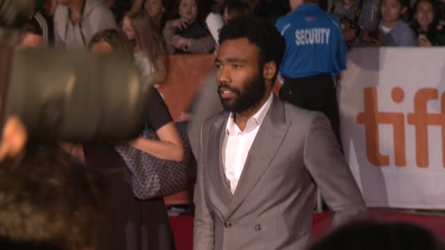 Donald Glover at The Martian Premiere 2015 Toronto International Film Festival at Roy Thomson Hall on September 11 2015 in Toronto Canada