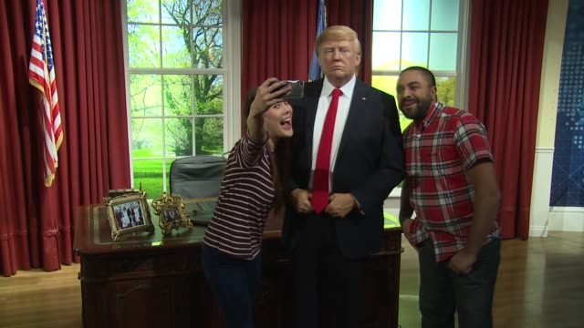 Donald J Trump at Madame Tussauds on January 18 2017 in London England