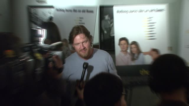 donald logue at the 'the ex' premiere at director's guild of america in new york, new york on may 3, 2007. - director's guild of america stock videos & royalty-free footage