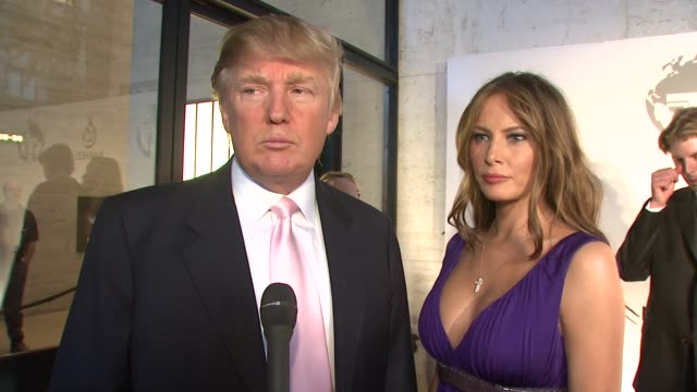 Donald Melania Trump on why he decided to expand his brand to Dubai what makes this location special and how he decides what features will be...