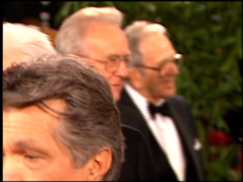 donald sutherland at the afi honors honoring clint eastwood entrances at the beverly hilton in beverly hills, california on march 1, 1996. - american film institute stock videos & royalty-free footage