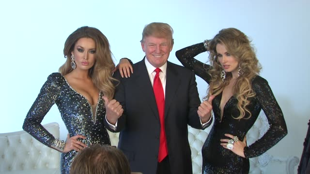 Image result for trump with beauty