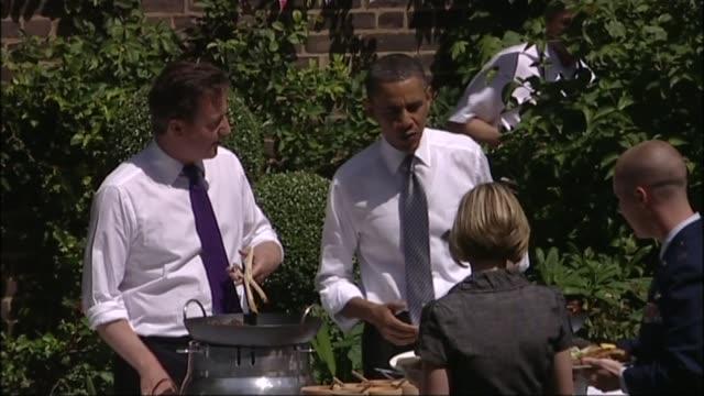 donald trump criticises david cameron and new london mayor sadiq khan; lib / 25.5.2011 10 downing street garden: barack obama and david cameron mp... - id��e stock videos & royalty-free footage