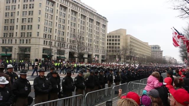 Donald Trump Inaugural Parade in Washington D.C.