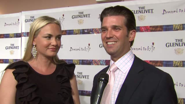 Donald Trump Jr says he walked the runway at this event last year syas his family has Scottish roots talks about support from Sean Connery says any...