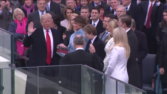 WPIX Donald Trump Sworn In as 48th President of the United States