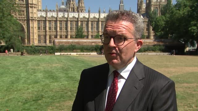 Tom Watson MP interview ENGLAND London Westminster EXT Tom Watson MP interview SOT S ADVICE TO MAY ON SUEING THE EU In three days Donald Trump has...