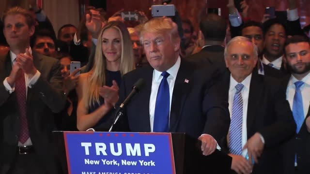 Donald Trump's full speech at Trump Tower after winning New York state's Republican Primary election on Tuesday April 19