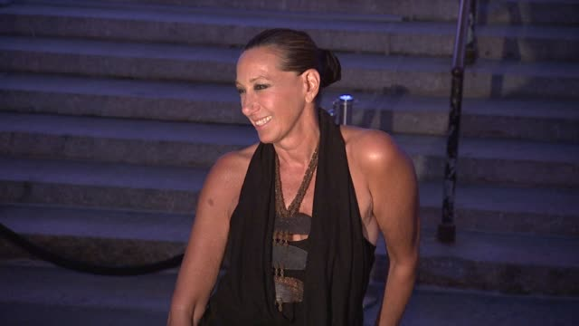 donna karan at vanity fair party - 2012 tribeca film festival on 4/17/2012 in new york, ny, united states. - tribeca festival stock videos & royalty-free footage