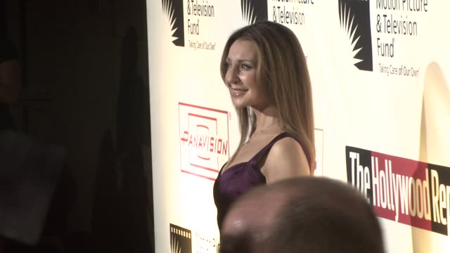 donna murphy at the 'a fine romance' to benefit the motion picture television fund at los angeles ca - motion picture & television fund stock videos & royalty-free footage