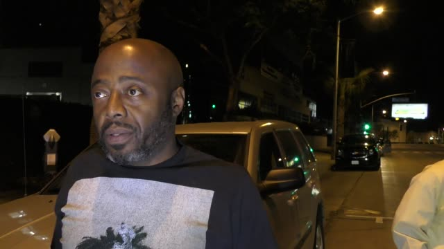 interview donnell rawlings talks about harvey weinstein the casting couch outside tao restaurant in hollywood in celebrity sightings in los angeles - casting stock videos & royalty-free footage