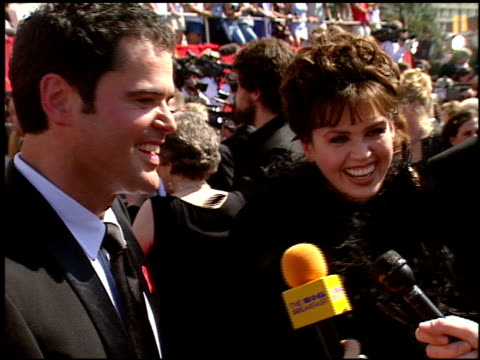 Donny Osmond at the 1998 Emmy Awards entrances at the Shrine Auditorium in Los Angeles California on September 13 1998
