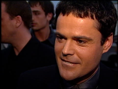Donny Osmond at the 2000 American Music Awards at the Shrine Auditorium in Los Angeles California on January 17 2000