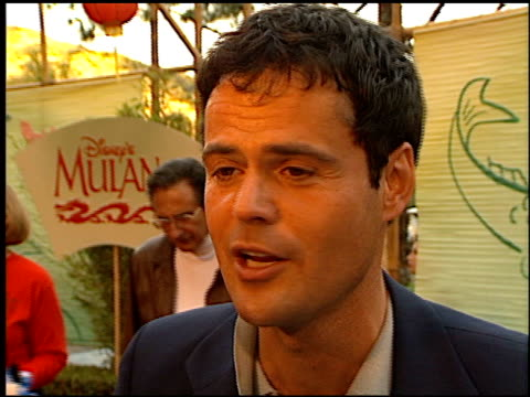 Donny Osmond at the 'Mulan' Premiere at Hollywood Bowl in Los Angeles California on June 5 1998