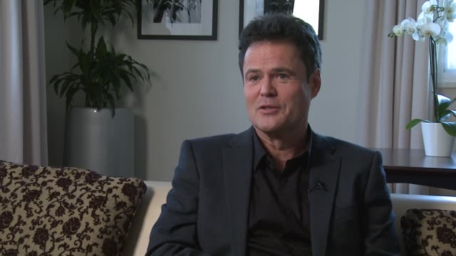 Donny Osmond on bands coming back the fan nostalgia Ozzy Osborne saying 'Crazy horses' his one of his favorite songs at Donny and Marie Osmond...