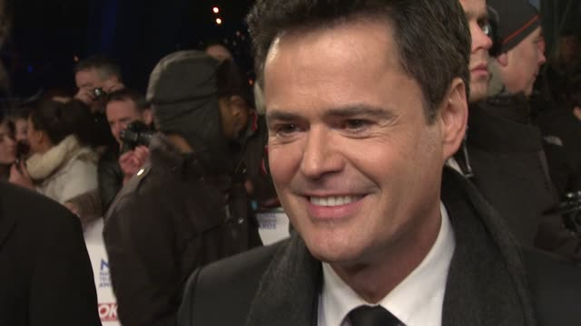 INTERVIEW Donny Osmond on his new projects and England being his second home National TV Awards 2013 at 02 Arena on January 23 2013 in London England