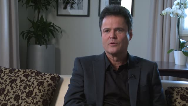 Donny Osmond on Muse playing live Katy Perry playing live at Donny and Marie Osmond interviews on November 05 2012 in London England