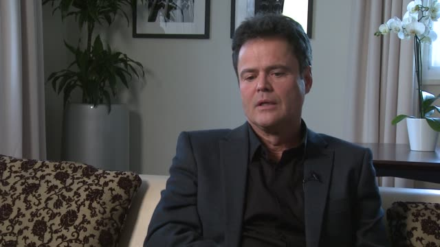 Donny Osmond on the importance of making tickets available to everyone why it's important to him being a family show at Donny and Marie Osmond...