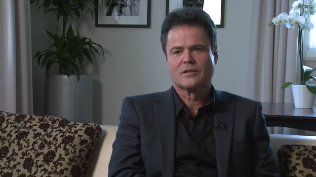 Donny Osmond on who comes to his shows younger audiences being interested and being surprised he can sing at Donny and Marie Osmond interviews on...