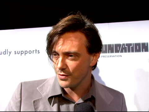 donovan leitch on why he came to support marc jacobs what excites him about fashion week what attracts people of all ages to marc jacobs' designs... - marc jacobs designer label stock videos and b-roll footage