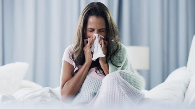 i don't deserve this cold! - allergy stock videos & royalty-free footage