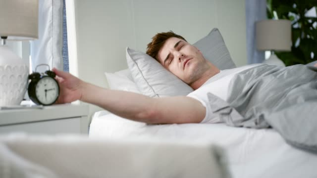 I don't feel like I got any sleep!