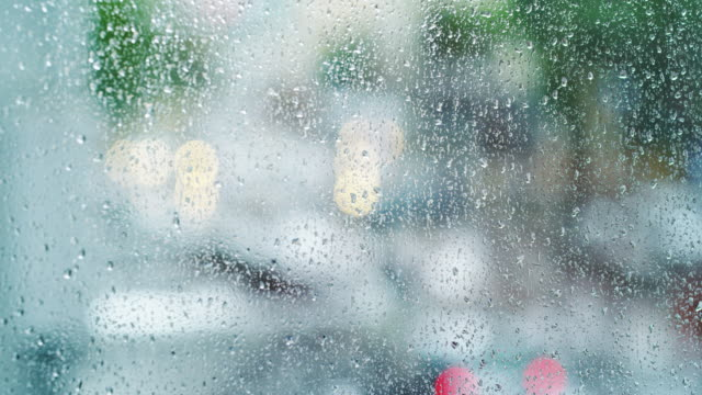 don't lose hope on a rainy day - condensation stock videos and b-roll footage