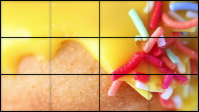 Donuts Macro - Window Panels Transition and Straight (Full HD)
