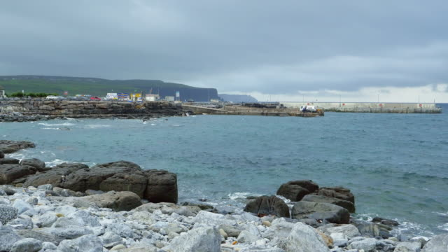 Doolin Harbor And Cliffs Of Moher