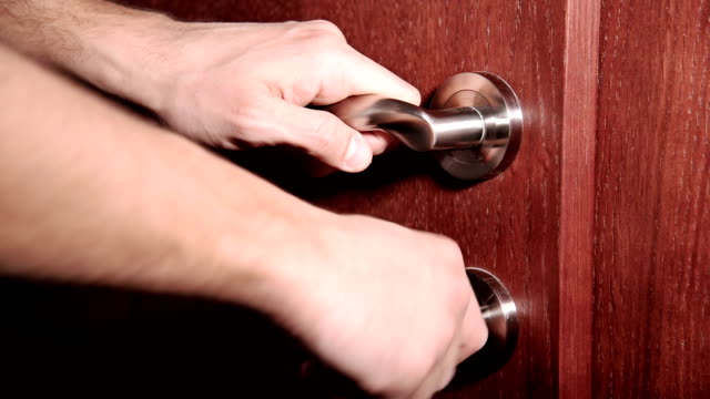 door handle - examining stock videos and b-roll footage