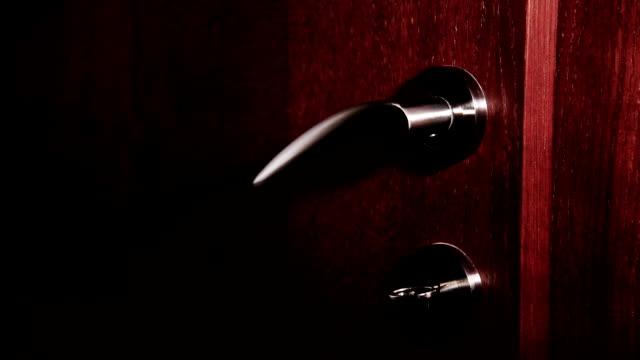 door handle - mystery stock videos & royalty-free footage