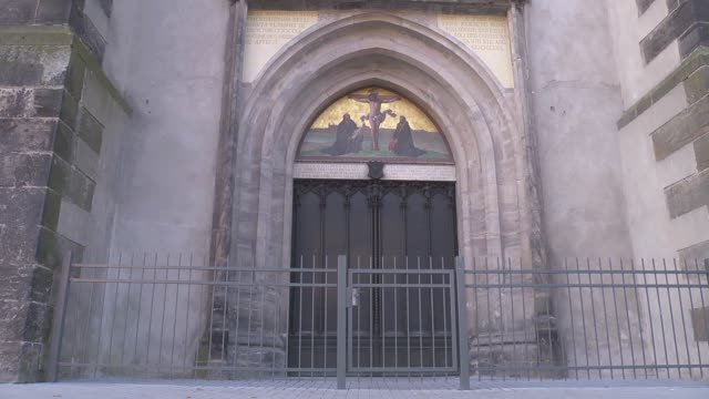 door of  Theses at castle church / Schlosskirche