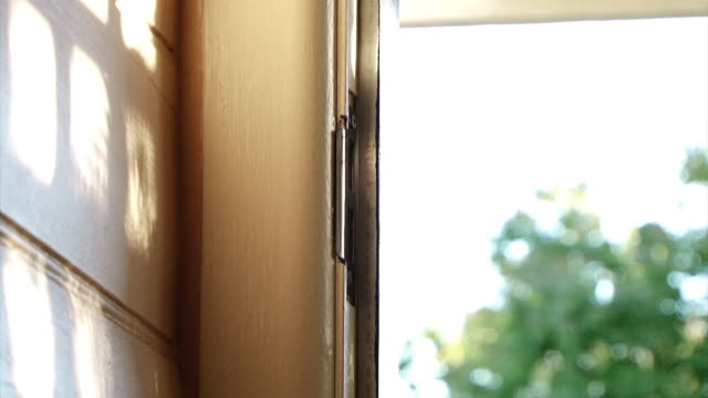 door opening & closing (hd 1080p) - door stock videos & royalty-free footage