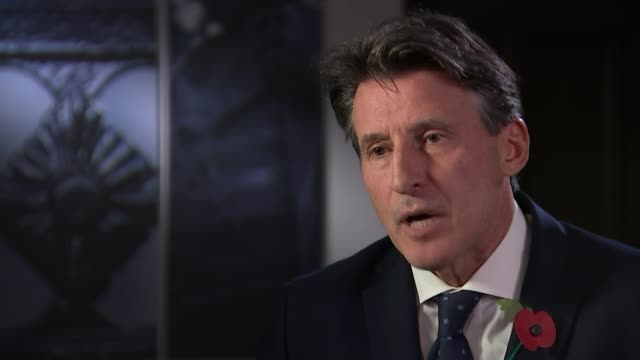 vídeos de stock, filmes e b-roll de russian spokesman claims allegations are unfounded 9112015 / t09111503 seb coe interview sot i will do this and i will do it with the support of the... - abuso de substâncias