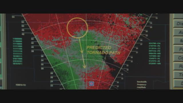 CU, PAN, Doppler radar reflectivity showing tornadic activity