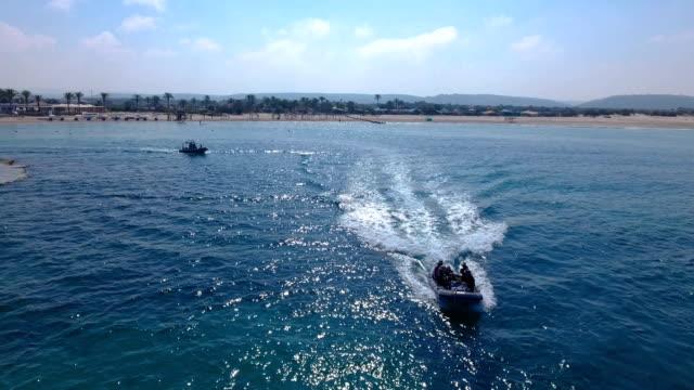 dor bay, israel - dinghy stock videos & royalty-free footage