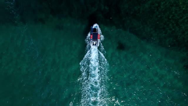 dor bay, israel - inflatable raft stock videos & royalty-free footage
