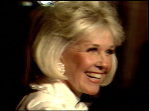 Doris Day at the 1989 Golden Globe Awards at the Beverly Hilton in Beverly Hills California on January 28 1989