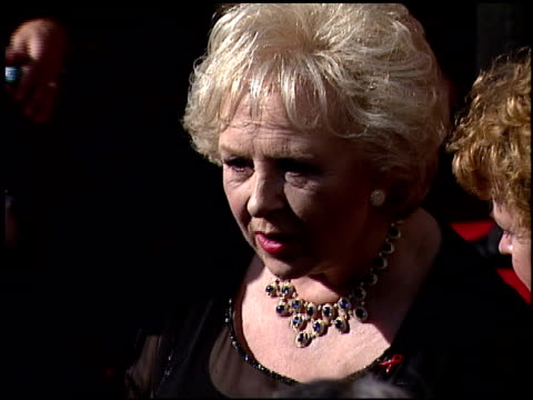 doris roberts at the 1999 emmy awards at the shrine auditorium in los angeles, california on september 12, 1999. - doris roberts stock videos & royalty-free footage