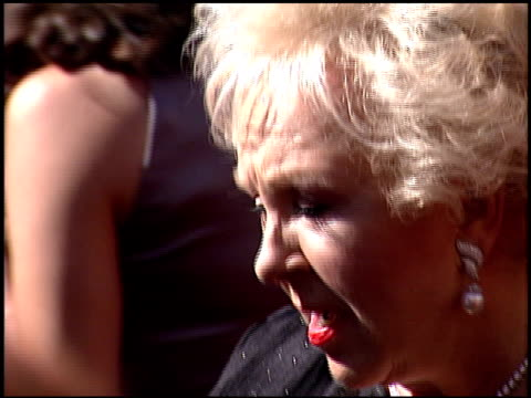 doris roberts at the 2000 emmy awards at the shrine auditorium in los angeles, california on september 10, 2000. - doris roberts stock videos & royalty-free footage