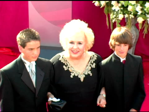 doris roberts at the 2005 emmy awards at the shrine auditorium in los angeles, california on september 18, 2005. - doris roberts stock videos & royalty-free footage