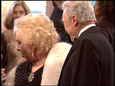 doris roberts at the night of 100 stars oscar gala at the beverly hilton in beverly hills, california on february 29, 2004. - doris roberts stock videos & royalty-free footage